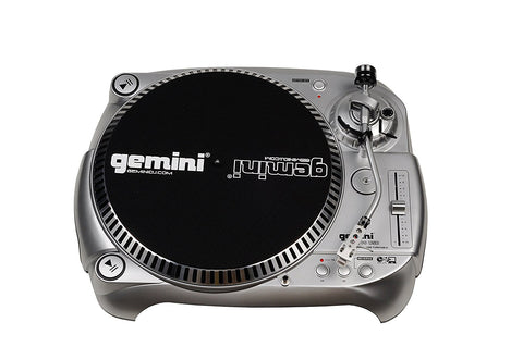 Gemini TT-1100USB Manual Belt-Drive Classic USB Connectivity DJ Turntable