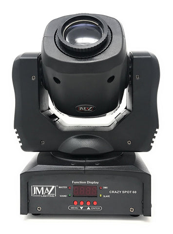 JMAZ Crazy Spot 60 60-Watt LED Moving Head - Sonido Live