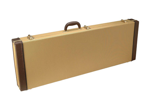 On-Stage GCE6000T Electric Guitar Hard Case - Tweed