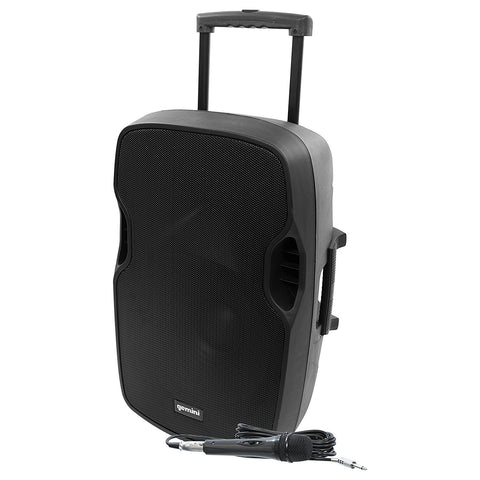 Gemini AS-15TOGO Bluetooth 15-inch Battery-Powered Portable PA Loudspeaker
