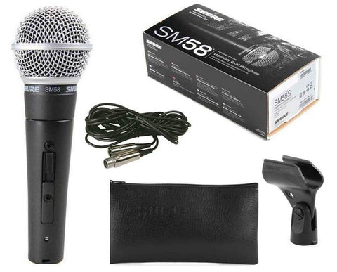 Shure SM58-CN Vocal Microphone with XLR Cable