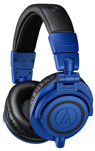 Audio-Technica ATH-M50xBB Closed-back Studio Headphones, Limited Edition Blue/Black