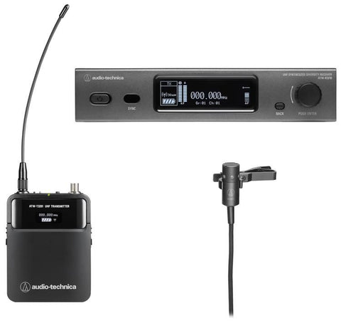 Audio-Technica ATW-3211/831 Wireless Lavalier System - DE2 Band