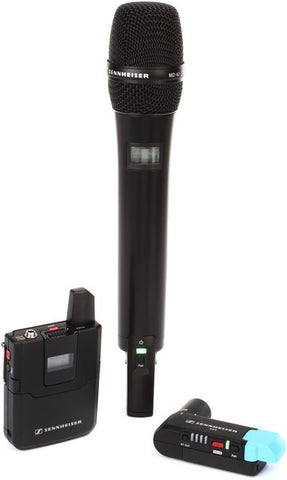 Sennheiser AVX-Combo SET Wireless Handheld and Lavalier System for Video