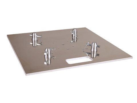 "Global Truss BASE PLATE 20X20A  - 20"" X 20"" ALUMINUM BASE PLATE FOR F14-F23-F24-F31-F34 - Sonido Live"