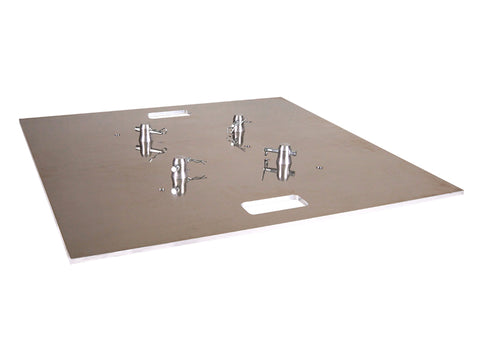 "Global Truss BASE PLATE 30X30A  - 30"" X 30"" ALUMINUM BASE PLATE FOR F24-F32-F33-F34-F44P - Sonido Live"