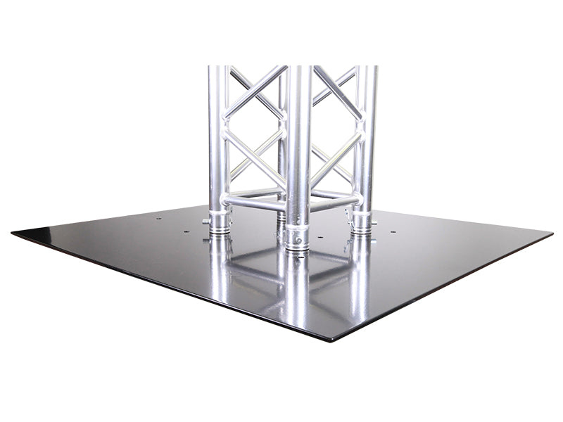 Global Truss BASE PLATE 3X3S  - BASE PLATE FOR F33 TRIANGULAR OR F34 & F44P SQUARE TRUSS - Sonido Live