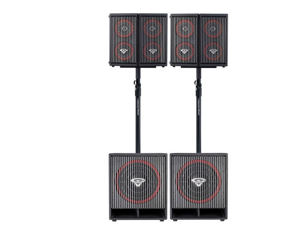 Cerwin Vega Ultimate CVA Package - four CVA-28 Highs and two CVA-121 Lows - Sonido Live
