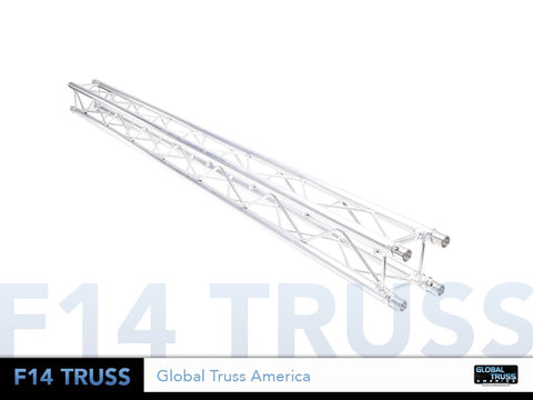 Global Truss SQ-F14-.05  - 1.64 ft. (0.5 Meter) F14 MINI SQUARE SEGMENT - Sonido Live