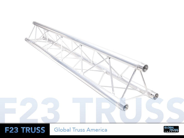 Global Truss TR96102  - 3.28 ft. (1.0 Meter) F23 MINI TRIANGULAR SEGMENT - Sonido Live