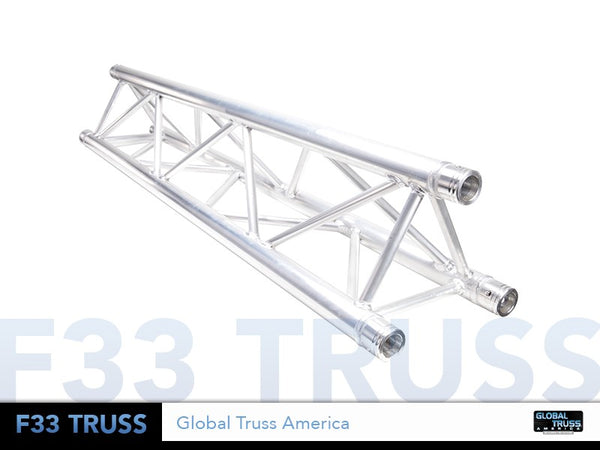 Global Truss TR-4079  - 6.56ft. (2.0m) TRIANGULAR SEGMENT - Sonido Live