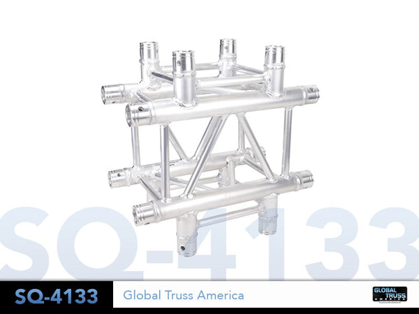 Global Truss  SQ-4133  - 1.64ft. (0.5m) 4 WAY CROSS JUNCTION - Sonido Live