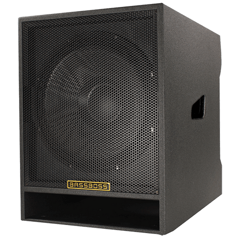 BASSBOSS DJ18S 2400-Watt RMS Powered Subwoofer - Sonido Live