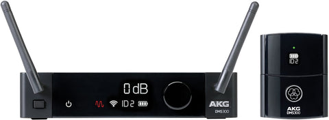 AKG DMS300 Digital Wireless Body Pack Microphone System