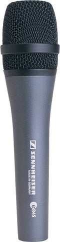 Sennheiser e845 Switchless Supercardioid Dynamic Vocal Microphone - Sonido Live