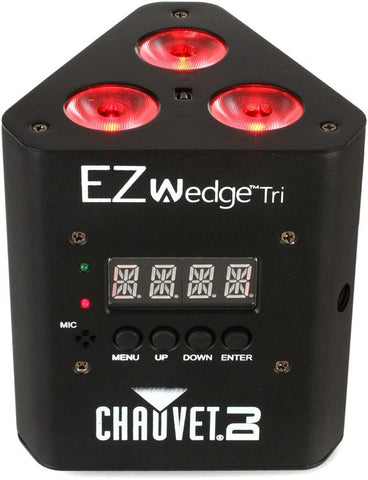 Chauvet DJ EZWedge Tri RGB Battery-powered Wash