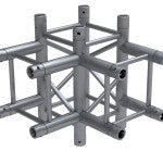 Cosmic Truss F34T40 4 way, T corner 1.64 ft. (0.5 meter) - Sonido Live