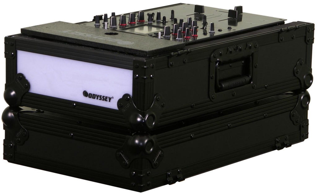 "Odyssey FFX10MIXBL Flight FX Series 10"" DJ Mixer Case with LED - Sonido Live"