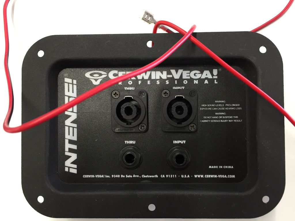 Cerwin Vega XOVP00021 Assembly Plate Crossover for INT-118S Bass - Sonido Live