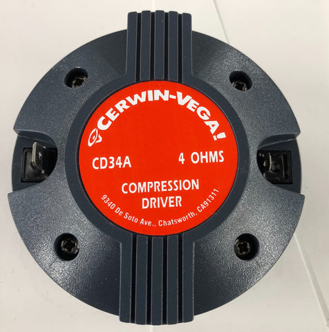 Cerwin Vega COMP00004 Driver CD34A for INT152 & INT252 Speakers