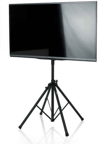Gator Frameworks GFW-AV-LCD-25 Deluxe Quad Legged LCD/LED Stand with LiftEEZ