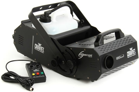 Chauvet DJ Hurricane 1800 Flex Adjustable Angle Fog Machine (25,000 CFM)