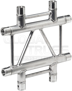 Global Truss IB-4072-H  - 1.64ft. (0.5m) 4 WAY HORIZONTAL CROSS JUNCTION - Sonido Live