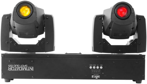 Chauvet DJ Intimidator Spot Duo 155 Dual 32W Moving Head Fixture