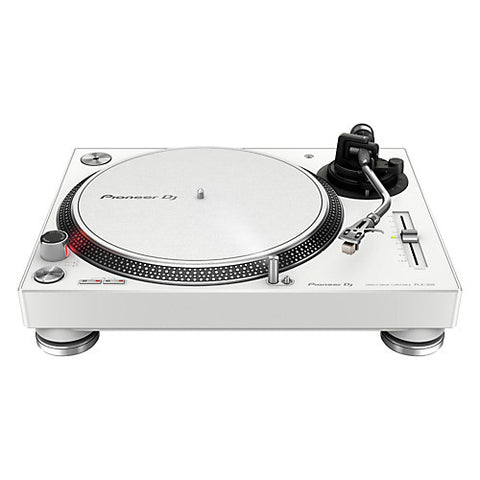 Pioneer PLX-500 Direct-Drive Professional Turntable - White - Sonido Live