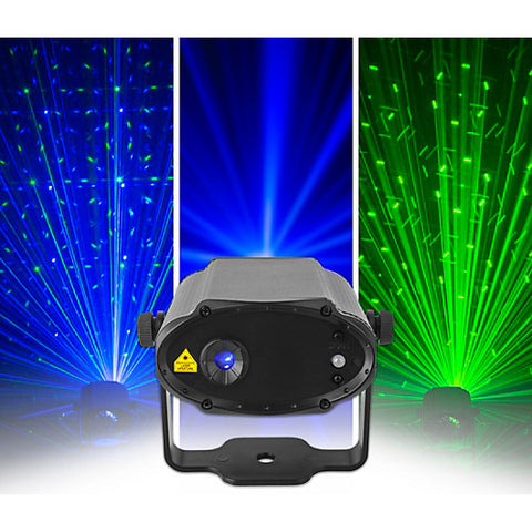 Chauvet DJ MiN Laser GB Mini Compact Green and Blue DJ Laser