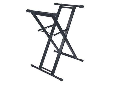 Odyssey LTBXS Double-Braced X-Stand for DJ Coffin Cases - Sonido Live