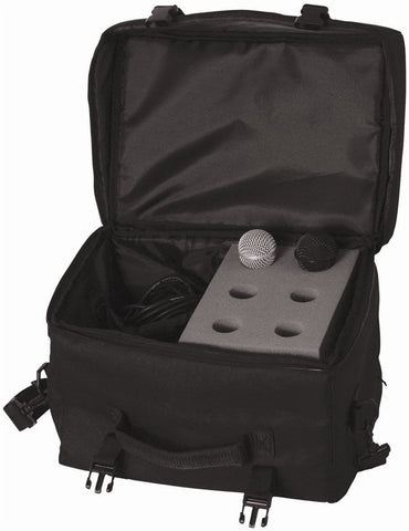 On-Stage MB7006 Microphone Carry Bag for 6 Mics