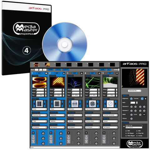 American DJ Media Master Express 4 Software