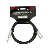 "Kirlin - 6 Feet - Patch Cable XLR Male - 1/4"" Mono - Sonido Live"