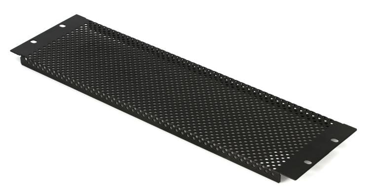 Gator GRW-PNLPRF3 - 3U Perforated Flanged Panel