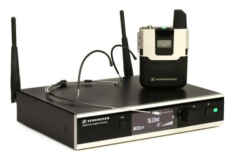 Sennheiser Speechline SL Headmic Set - Digital Wireless System - Sonido Live
