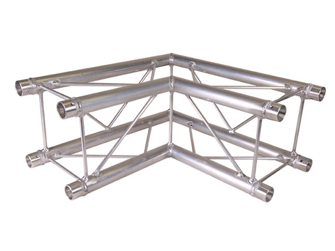 Global Truss SQ-F24-C21  - 1.64ft. (0.5m) 2 WAY 90 DEGREE CORNER - Sonido Live