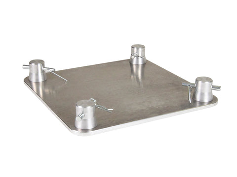 Global Truss SQ-F24 BASE  - BASE PLATE FOR F24 SQUARE TRUSS - Sonido Live