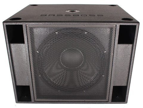 BASSBOSS SSP118 2,400-Watt RMS Single Active 18-Inch High-Powered Subwoofer - Sonido Live
