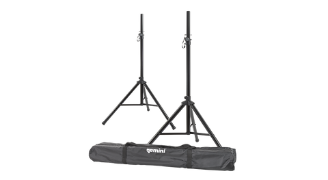 Gemini ST-PACK Dual Speaker Stand Package