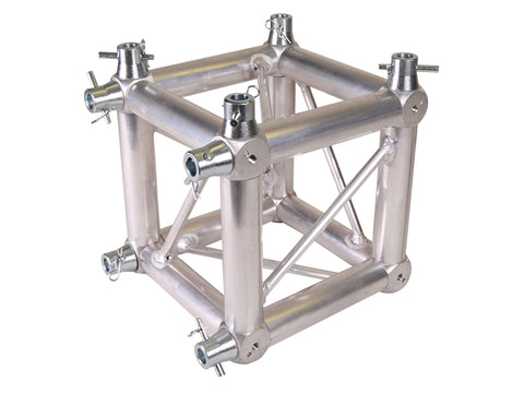 Global Truss  ST-UJB-F24  - UNIVERSAL JUNCTION BLOCK FOR F24 SQUARE ALUMINUM TRUSS - Sonido Live