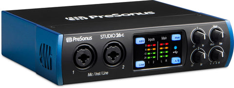 PreSonus Studio 26C 2x4 USB-C Audio Interface