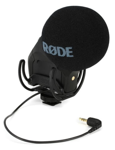 Rode Stereo Video Microphone Pro w/ Integrated Rycote Shockmount