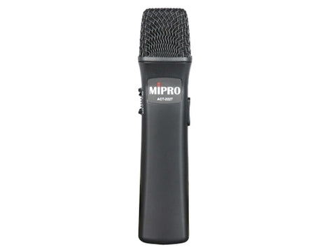 MIPRO ACT-222T Rechargeable Handheld Transmitter
