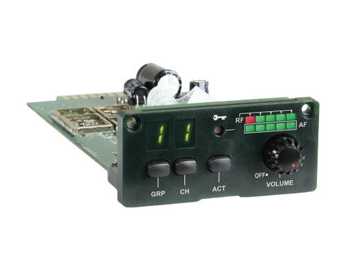 MIPRO MRM-80 Digitally Encrypted Single-Channel Diversity Receiver Module