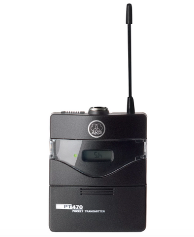 AKG PT470 Wireless Bodypack Transmitter - Band 7 - Sonido Live