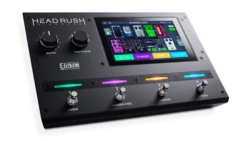 HeadRush Gigboard Ultra-Portable  Guitar  FX  and  Amp  Modeling  Processor