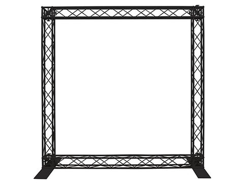 "Odyssey NEX15180SWDBLK 71x71"" Nexus Scrim Werks Décor Panel Truss Package - Black"
