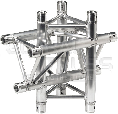 Global Truss TR-4098  - 1.64ft. (0.5m) 4 WAY VERTICAL CROSS JUNCTION - Sonido Live