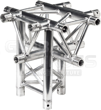 Global Truss TR-4101-D  - 1.64ft. (0.5m) 5 WAY CROSS JUNCTION - Sonido Live